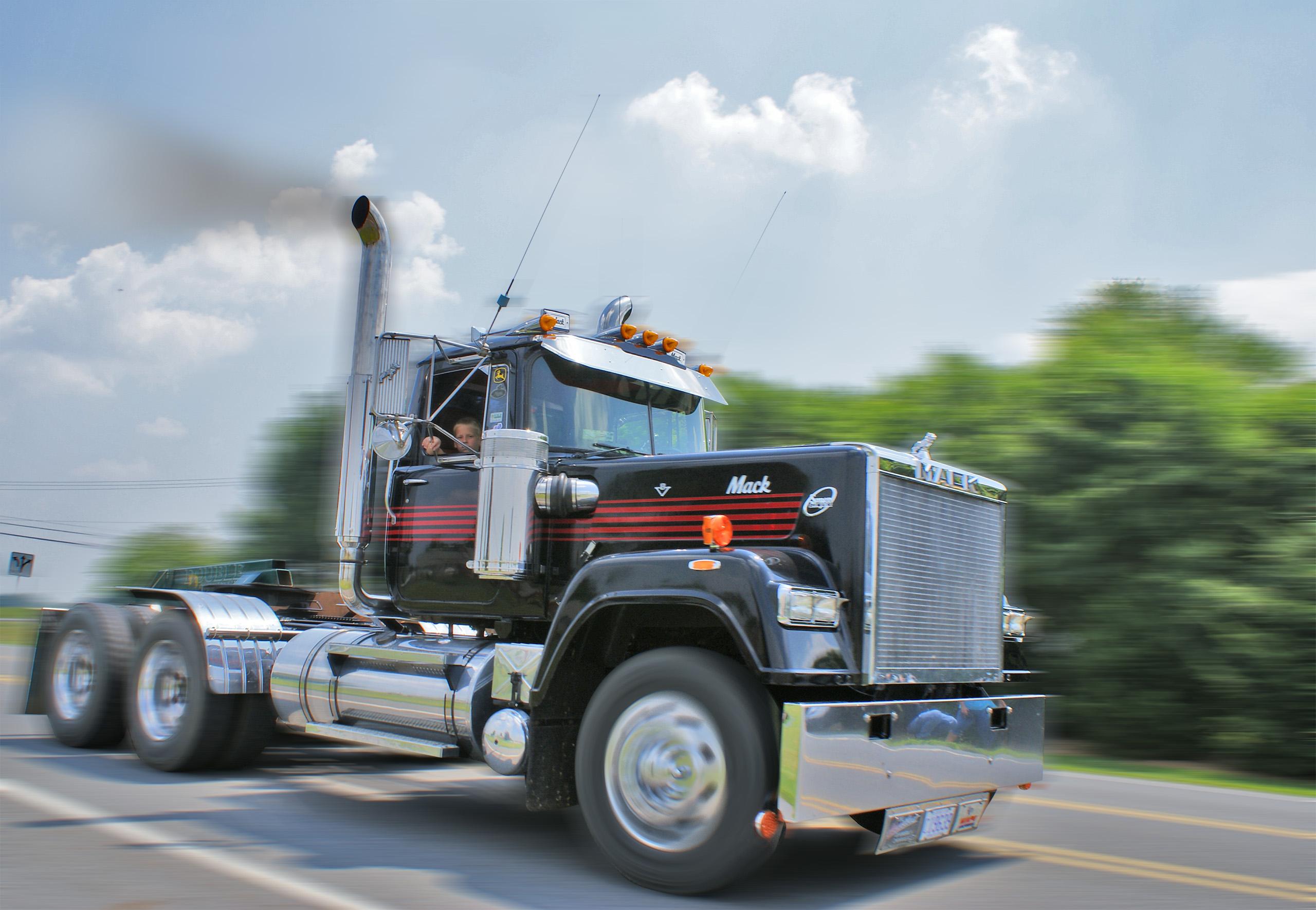 After-snelheid truck